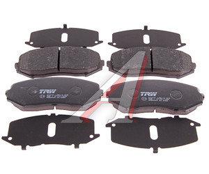 Колодки тормозные SUZUKI Grand Vitara (05-) передние (4шт.) TRW GDB3443, 55200-65J11/55200-65J01/55200-65J21/55200-65J00