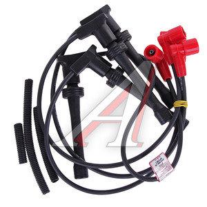 Провод высоковольтный ВАЗ-2112 комплект силикон SPORT L=50см CARGEN 2112-3707080-10