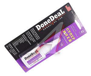 Клей-супер не требует обезжиривания поверхностей индустриальный 30г DONE DEAL DD6643