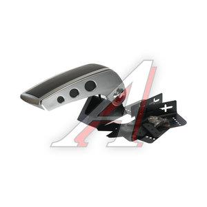 Подлокотник универсальный откидной, кожа (черный/серый) AA-48006-GY