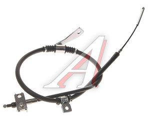 Трос стояночного тормоза SSANGYONG Actyon Sports (06-/12-) задний правый (барабанные тормоза) OE 4902032104