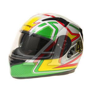 Шлем мото (интеграл) MICHIRU Forty-six (с солнцезащитным стеклом) MI 162 XL, 4680329005649