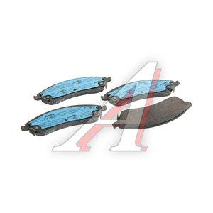 Колодки тормозные CADILLAC SRX (03-) передние (4шт.) TRW GDB4451, 18047988