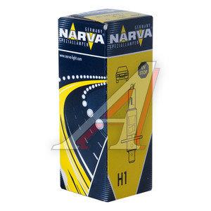 Лампа 12V H1 55W P14.5s NARVA 483203000, N-48320, А12-55(Н1)
