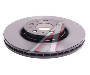 Диск тормозной VOLVO XC90 (02-) передний (1шт.) TRW DF4339, 30636074