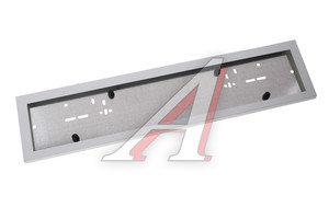 Рамка знака номерного сталь белая на стальной подложке AB-020WC