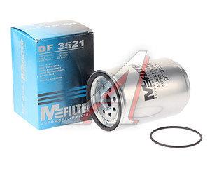 Фильтр топливный VOLVO FH12,FH13 (05-) сепаратора (h=160мм, отверстие под стакан М80мм) MFILTER DF3521, KC429D/212268, 7421380483/20745605/20788794/20879812/21380488