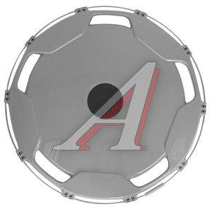 Колпак колеса R-22.5 задний пластик (серый) АВТОТОРГ АТ-9206, AT59208