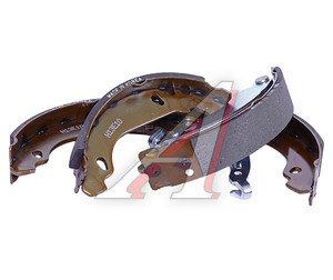 Колодки тормозные PEUGEOT 206 задние барабанные (4шт.) SANGSIN SA157, GS8642