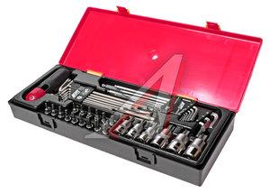 Набор инструментов 40 предметов TORX, HEX (ключи, головки) в кейсе JTC JTC-K1401