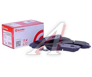 Колодки тормозные MITSUBISHI Pajero 3 передние (4шт.) BREMBO P54029, GDB3246, MN116445