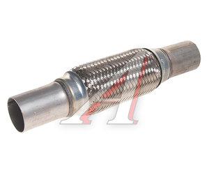 Гофра глушителя 54х200 в 3-ой оплетке (общая длина 345мм) KORTEX KES5026, 739-137