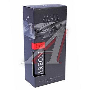 Ароматизатор спрей (серебряный) 50мл Perfume премиум AREON AP01, 704-AP1