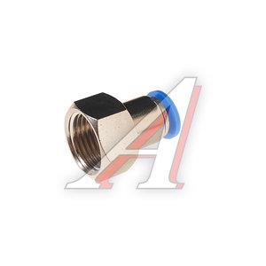 """Фитинг для пластиковых трубок 1/2"""" 10мм с внутренней резьбой ROCK FORCE RF-SPCF10-04"""