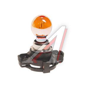 Лампа 12V PY24W PGU20-4 Super Vision PHILIPS 12274SV+C1, P-12274SV