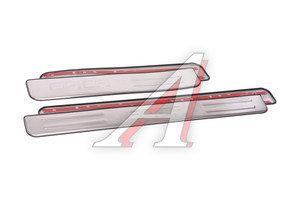 Накладка порога CHEVROLET Epica (06-13) хром комплект PRO SPORT RS-09389