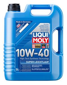Масло моторное SUPER LEICHTLAUF п/синт.5л LIQUI MOLY LM SAE10W40 1929, 84172