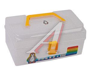 Ящик для инструмента прозрачный 220х130х100мм PROFBOX T-22, 610454