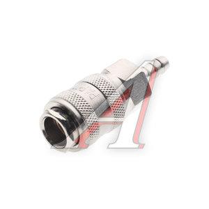 """Переходник для компрессора 6мм быстросъемный с клапаном """"елочка"""" SE1-2SH, PN-SE1-2SH"""