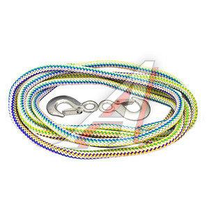 Трос буксировочный 4.5т 5м альпийский шнур (крюк-крюк) АВТОСТОП У-4.5Ш, AB-4.5Ш