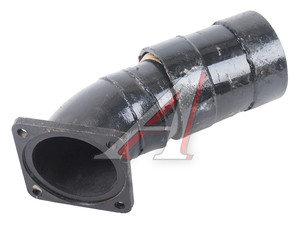 Патрубок МАЗ-64227 системы выхлопа с шарниром БЗЗЧ 64227-1201009, АУКШ.459000.013.000