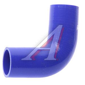 Патрубок НЕФАЗ радиатора нижний (L=115х115мм, d=48) силикон 52974-1303010-01, 52974-1303010