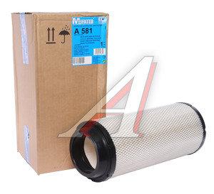 Фильтр воздушный JCB JS160 внешний MFILTER A581, LX1673/C16400, 32/917804/6910725/80607039/K1043119