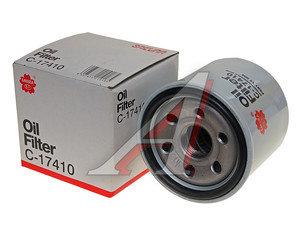 Фильтр масляный MAZDA 3,6,CX-5 SAKURA C17410, PE01-14-302A/W6018, PE0114302A/PE0114302