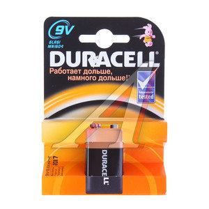 Батарейка KRONA 6LR61 9V блистер 1шт. Alkaline DURACELL 6LR61-1BL, D-6LR61бл