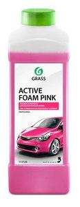 Шампунь для бесконтактной мойки ACTIVE FOAM PINK 1кг GRASS GRASS, 113120