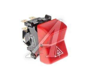 Выключатель клавиша КАМАЗ аварийной сигнализации красная АВТОАРМАТУРА П 150-07.25