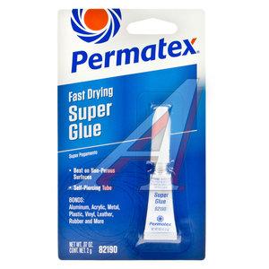 Клей-супер универсальный 2г Super Glue Super Pega PERMATEX PERMATEX 82190, PR-82190
