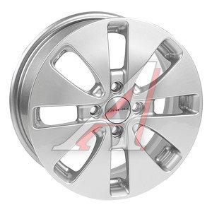 Диск колесный литой HYUNDAI Solaris KIA Rio R15 КС-582 БП K&K 4х100 ЕТ48 D-54,1