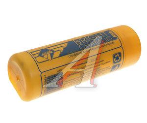 Салфетка замша синтетическая универсальная 43х64см в тубусе NOVA BRIGHT 37563, 46479