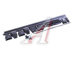 """Багажник KIA Rio 3 седан (11-) прямоугольный, сталь комплект L=1200мм """"LUX"""" 694425 LUX седан, 694425"""