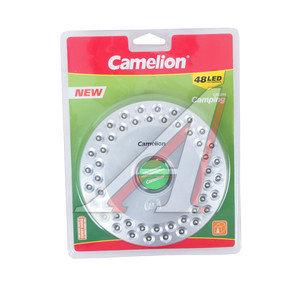 Фонарь 8 светодиодов (пластик) 14см для кемпинга 4.5V 3хLR06 CAMELION C-6248