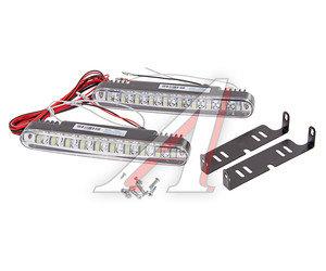 Огни ходовые дневного света LED 20светодиодов 12V 5000К 2х10W 180х25х35мм MAXLIGHT M320D