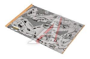Шумоизоляция Вибропласт Silver лист (0.47м х 0.75м) толщина 2.0мм STP StP