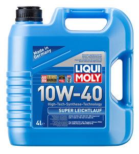 Масло моторное SUPER LEICHTLAUF п/синт.4л LIQUI MOLY LM SAE10W40 1916, 84170