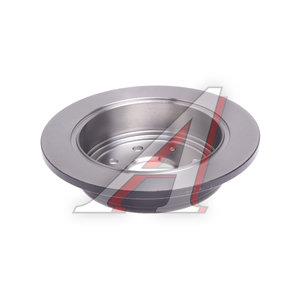 Диск тормозной CHEVROLET Lacetti (03-) задний (1шт.) TRW DF7381, 96549630