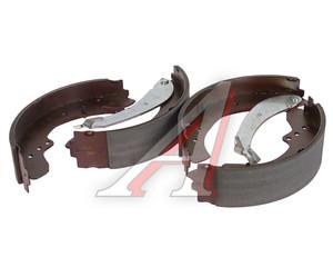 Колодки тормозные PEUGEOT Boxer (02-) CITROEN Jumper FIAT Ducato задние барабанные (4шт.) TRW GS8545, 4251.H4/4241.H4/9945885