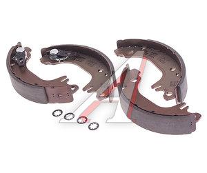 Колодки тормозные PEUGEOT 106,309 CITROEN задние барабанные (4шт.) TRW GS8322, 4241.J6