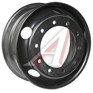 Диск колесный КАМАЗ-ЕВРО,ЛАЗ,ЛИАЗ (8.25х22.5) дисковый ЗАИНСК (MEFRO) 825-3101012 (черный), 374-3101012, 825-3101012