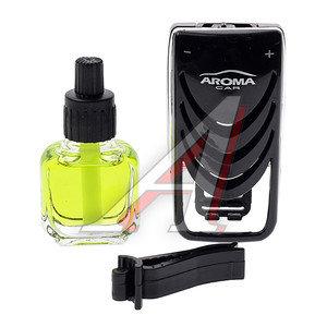 Ароматизатор на дефлектор жидкостный (лимон) Car Speed AROMA 92315, Aroma Car Speed\ Lemon