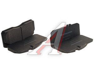 Колодки тормозные MAN L2000 передние/задние дисковые (4шт.) STELLOX 8501410SX, 29055