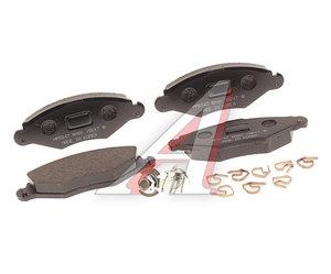 Колодки тормозные RENAULT Duster (10-),Megane (10-) передние (ESP) (4шт.) HSB HP3009, GDB1789, 410607115R