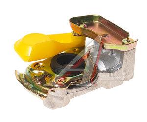 Головка соединительная тормозной системы прицепа 16мм (грузовой автомобиль) желтая без клапана EBS 90021004, 06585