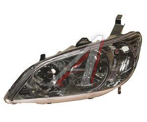 Фара HONDA Civic седан (04-) левая (под корректор) TYC 20-A560-A1-6B, 217-1146L-LD-EM, 33151-S5A-G51