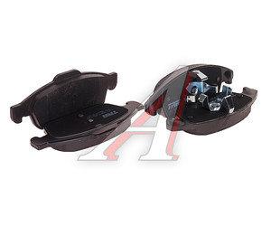 Колодки тормозные PEUGEOT CITROEN передние (4шт.) TRW GDB1690, 425412