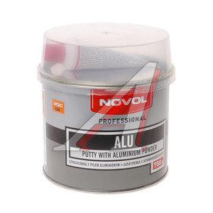 Шпатлевка с алюминиевым наполнителем NOVOL ALU 0.75кг NOVOL